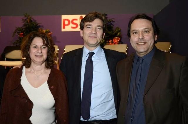 """<h3> Avec Wilfrid VINCENT</h3>    <a href=""""http://wvincent.fr/2316-2/"""">Wilfrid Vincent et Dominique Armano avec Arnaud Montebourg à Chatillon</a>"""